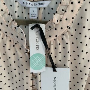 41 Hawthorn Tops - Stitch Fix 41 Hawthorn Prinsloo Ruffle Blouse